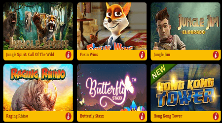 Popular Online Slots