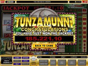 Tunzamunni online slots